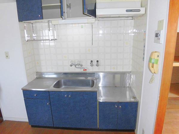 403号室のキッチン